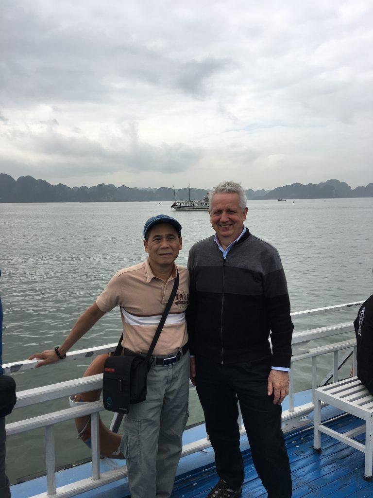 Activity 12: HaLong Bay from a boat.