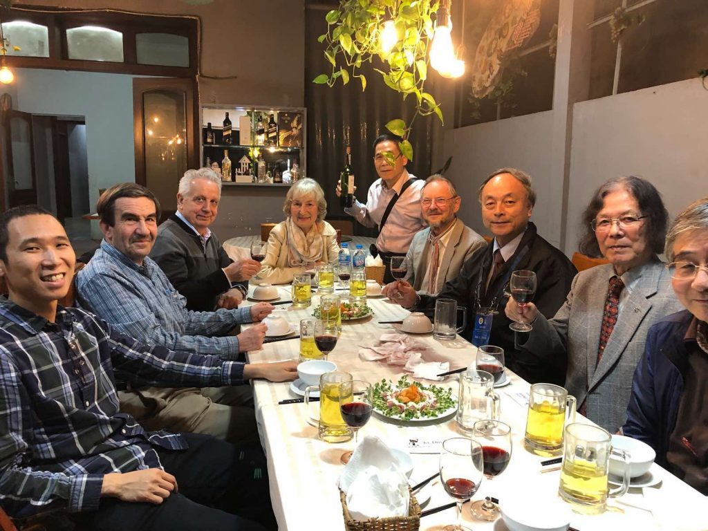 """Activity 20: To """"celebrate"""" the 80-year birthday of Prof. Michio Sugeno in Hanoi during AICI 2020."""