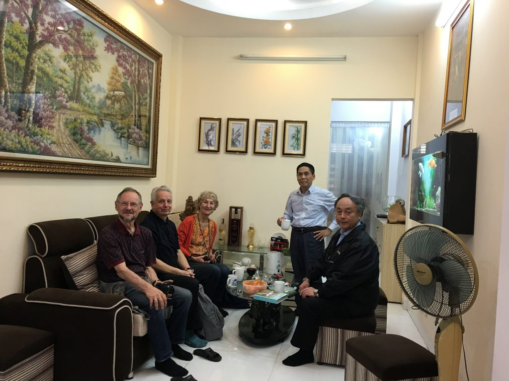 Activity 19: Prof. Phuong meets his academic father – Prof. K.P. Adlassnig at his house in Hanoi during AICI 2020.